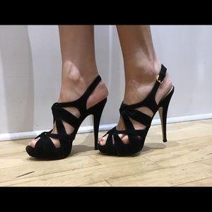 Miu Miu heels. Suede leather made in Italy